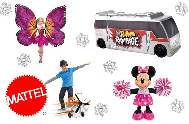 Mattel Big Christmas toy giveaway