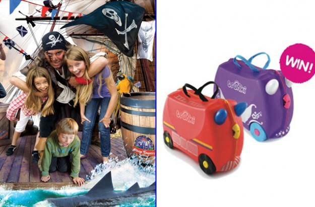 Trunki, Alton Towers competition