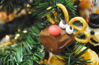 Rudolph marshmallow decorations