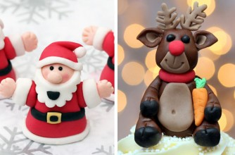 Christmas Cake Decorating Ideas Without Fondant : Fondant Christmas cake decorations - goodtoknow