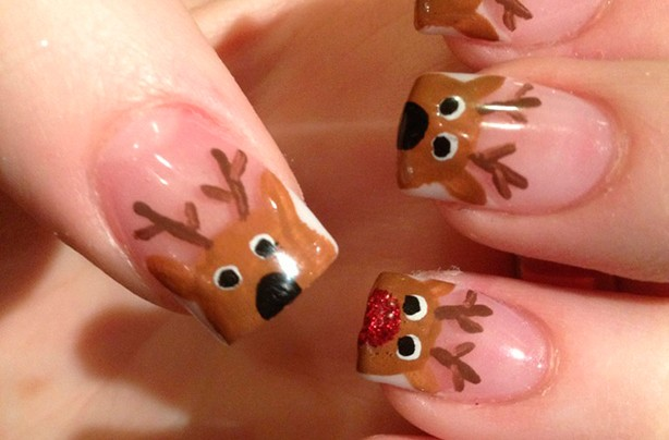 Cheeky reindeers