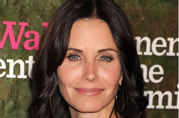 Courteney Cox face on picture