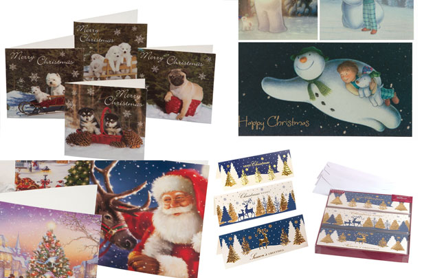 The best value Christmas cards