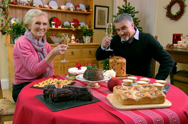 Mary Berry and Paul Hollywood Christmas