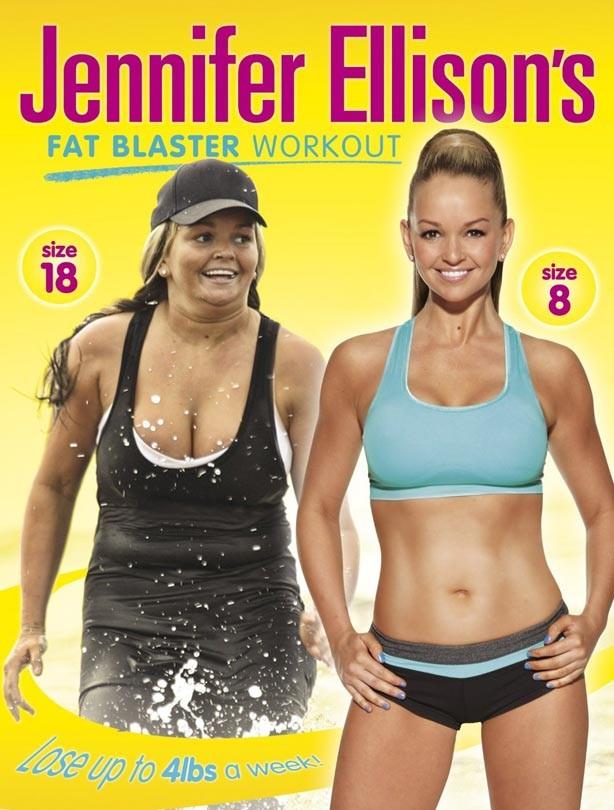 Jennifer Ellison's Fat Blaster Workout