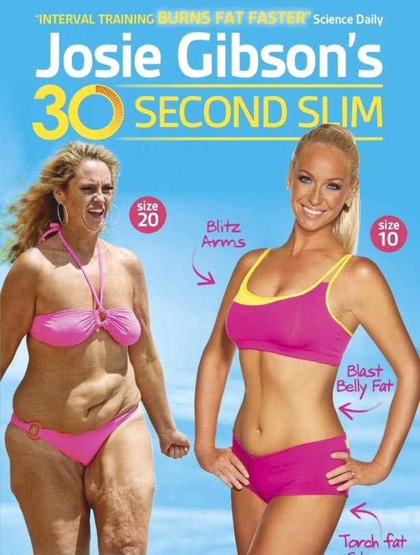 Josie Gibson's 30 Seconds Slim