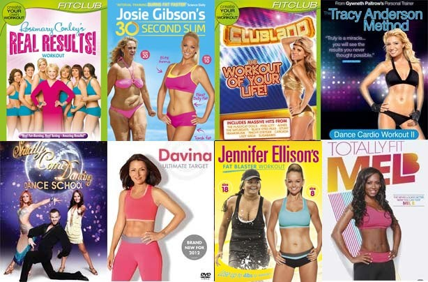 Best fitness DVDs 2014