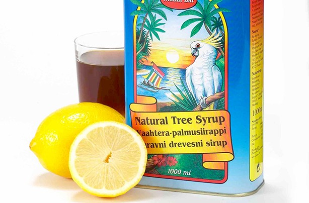 Lemon detox tree syrup product photo