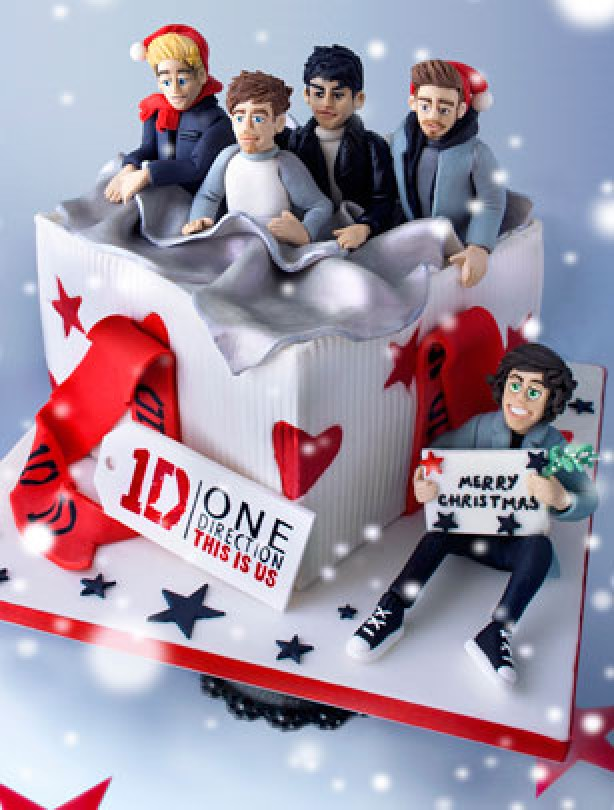 decoration gateau one direction