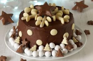 Frances Quinn's chocolate snowflake cake