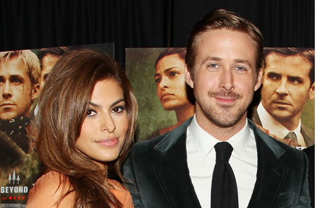 Ryan Gosling and Eve Mendes