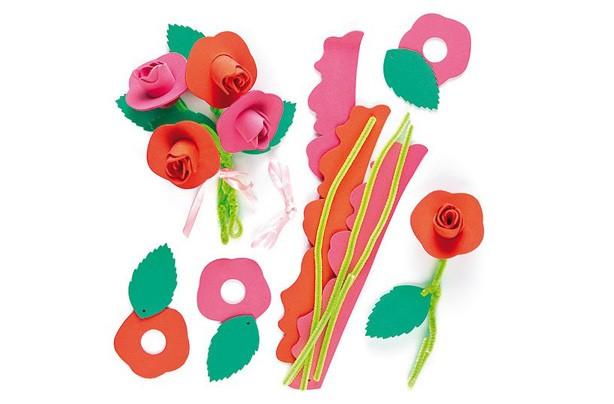 Baker Ross roses craft kit