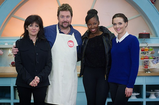 The Great Sport Relief Bake Off: Celebrity Bake Off contestants 2014