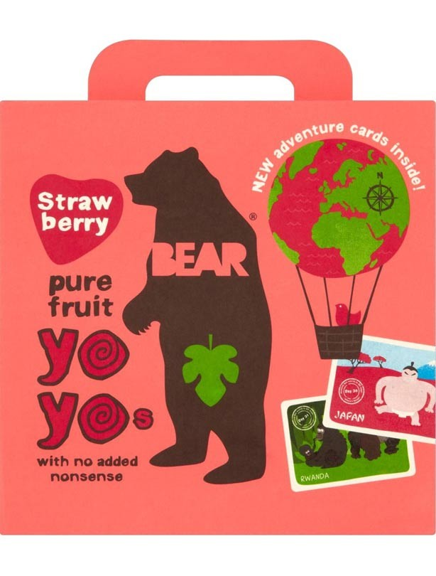 Bear Yo Yos Strawberry