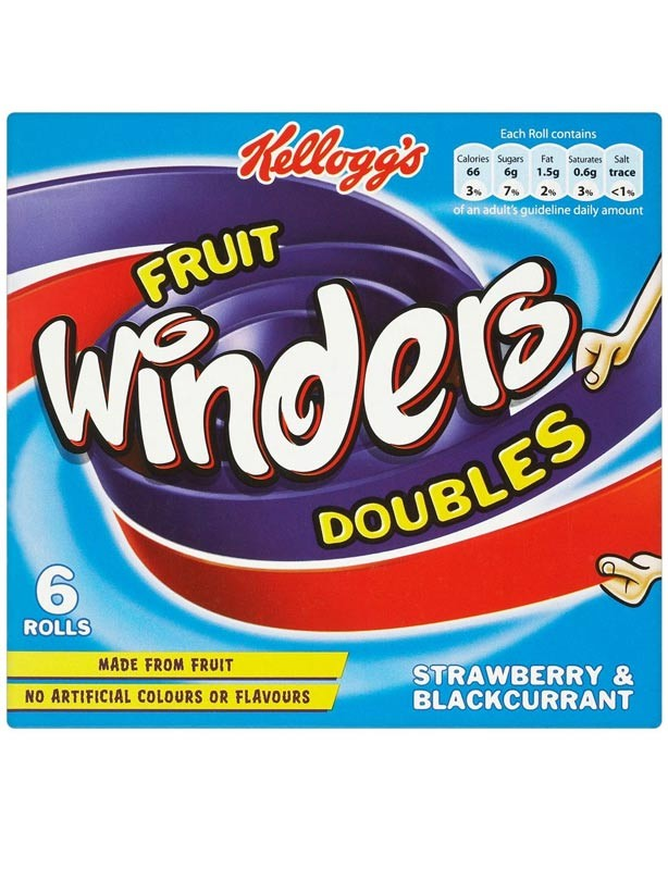Kellogg's Fruit Winders Doubles