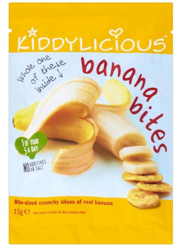 Kiddilicious Banana Bites