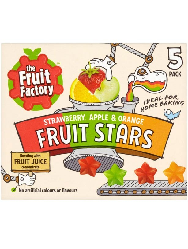 The Fruit Factory Fruit Stars