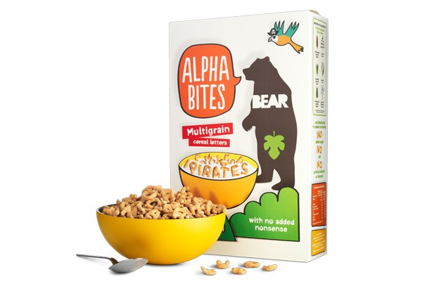 Alphabites Multigrain kids' cereals
