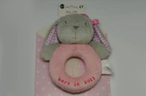 Next Baby plush rabbit toy