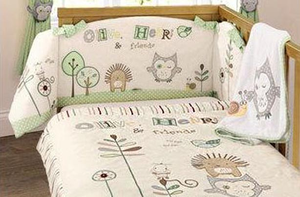 Olive and Henri bedding