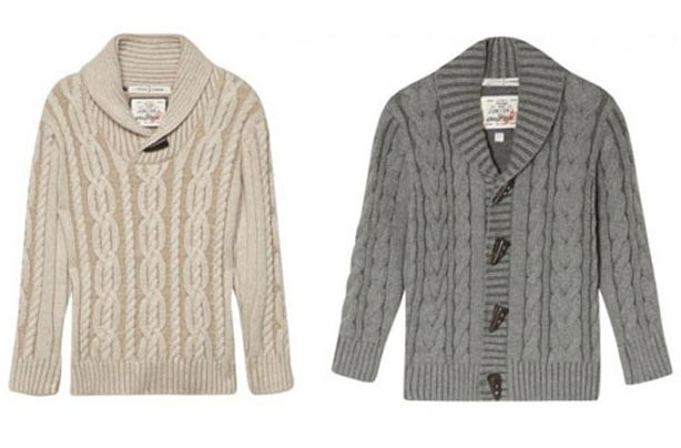 Jasper Conran Cable Knit cardigans