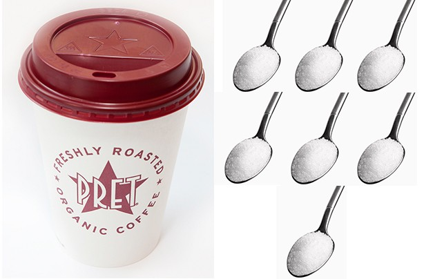 Pret a Manger Very Berry Latte