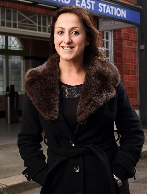 Natalie Cassidy January 2014