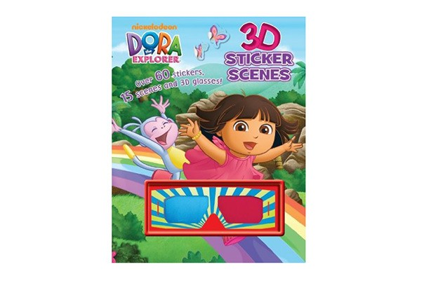 Dora The Explorer 3D Sticker Scenes