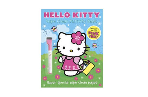Hello Kitty Wipe Clean Activities Book
