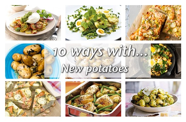 10 ways with new potatoes