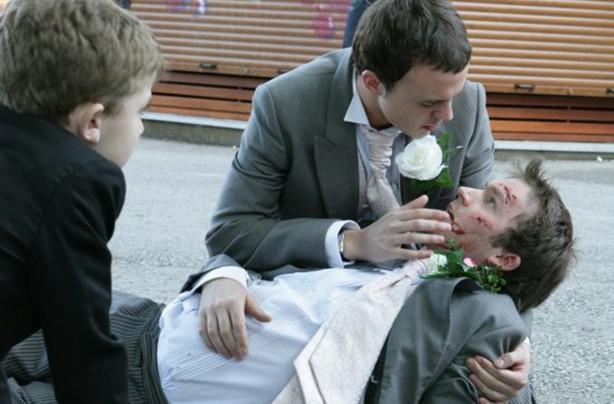 Max Cunnigham dying