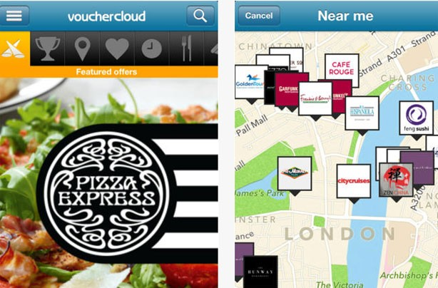 Money saving apps: Vouchercloud
