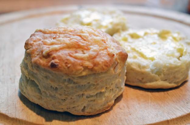 Feta cheese scones