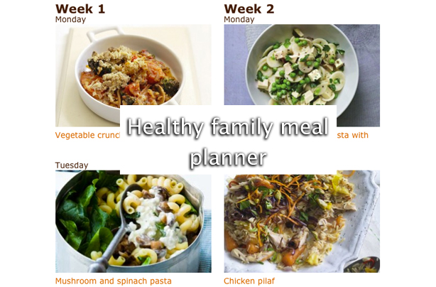 Handy meal planners