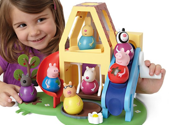 Best new toys 2014: Peppa Pig Weebles Wind and Wobble Playhouse