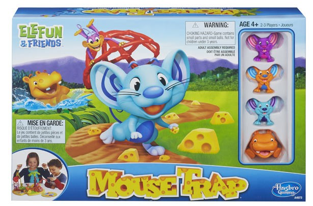 Best new toys 2014: Elefun Mousetrap