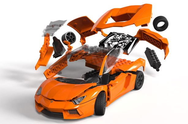 Best new toys 2014: Airfix quick build Lamborghini