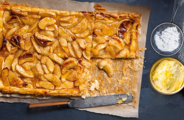 Rustic Apple Tarts With Calvados Whipped Cream Recipe ...