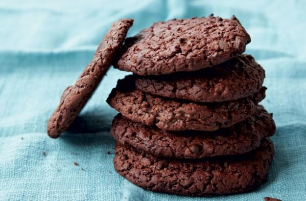 Low-sugar chocolate chip cookies
