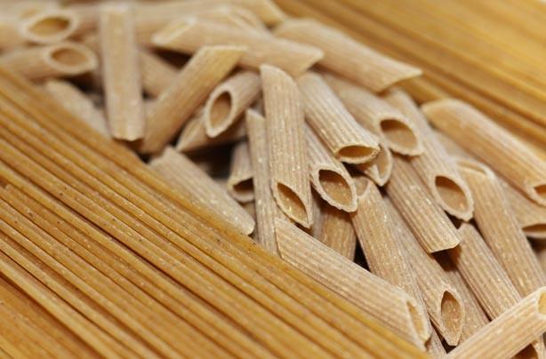 Brown pasta