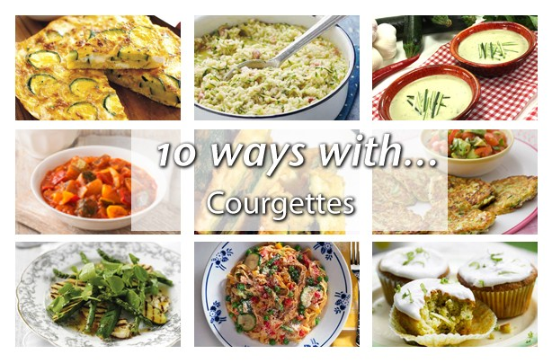 10 ways with courgettes