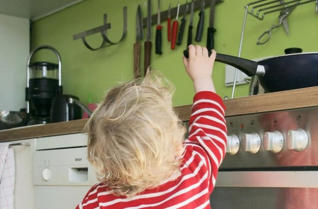 Baby proofing
