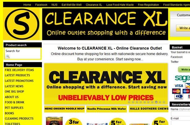 Top 10 bargain websites: Clearance XL