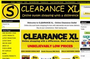 Clearance XL