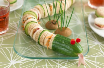 Snake sandwiches