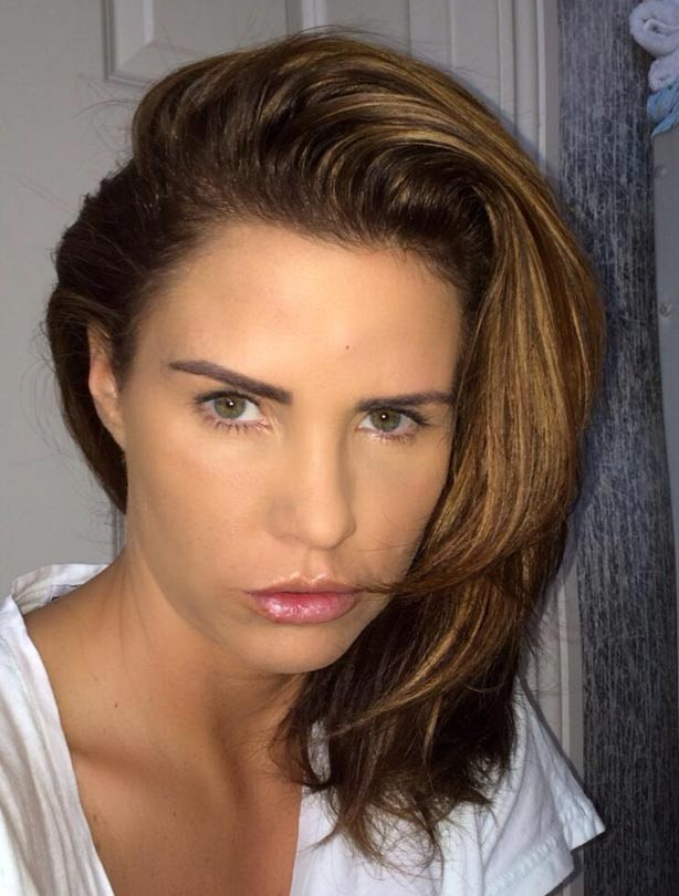 Katie Price new hair 2014