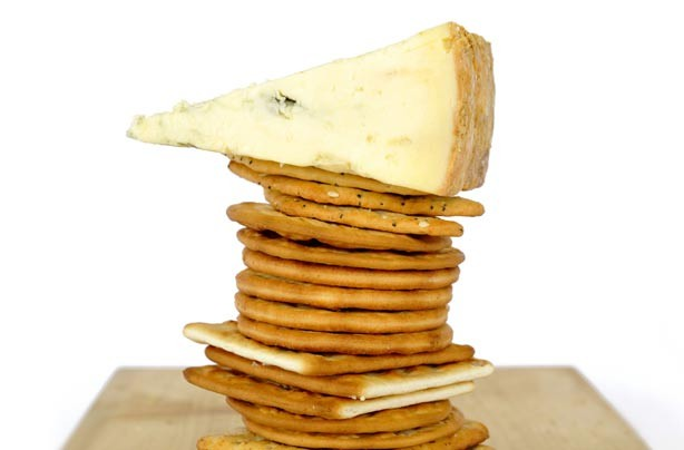 Chesse and crackers