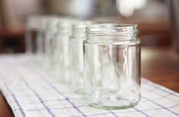 How to sterlise jars and bottles