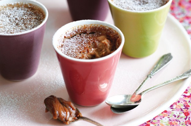 Irish cream chocolate pots