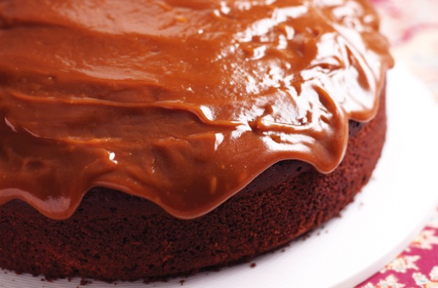 Chocolate sticky toffee cake